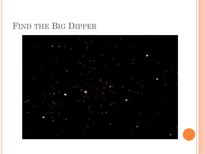 Find the Big Dipper