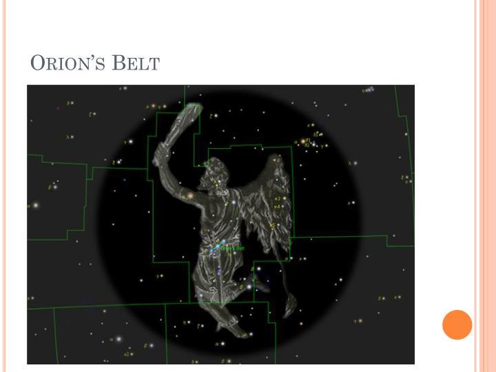 Orion's Belt