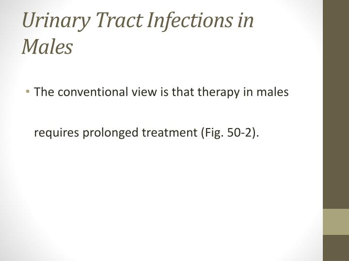 Urinary Tract Infections in