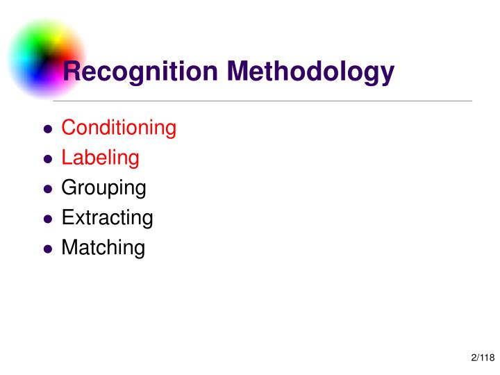 Recognition methodology