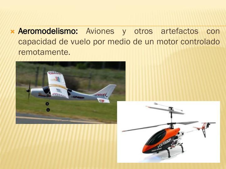 Aeromodelismo: