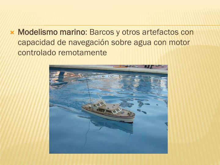 Modelismo marino