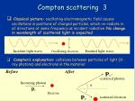 compton scattering 3