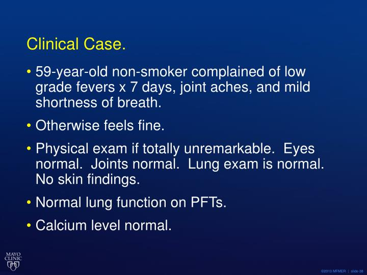 Clinical Case.