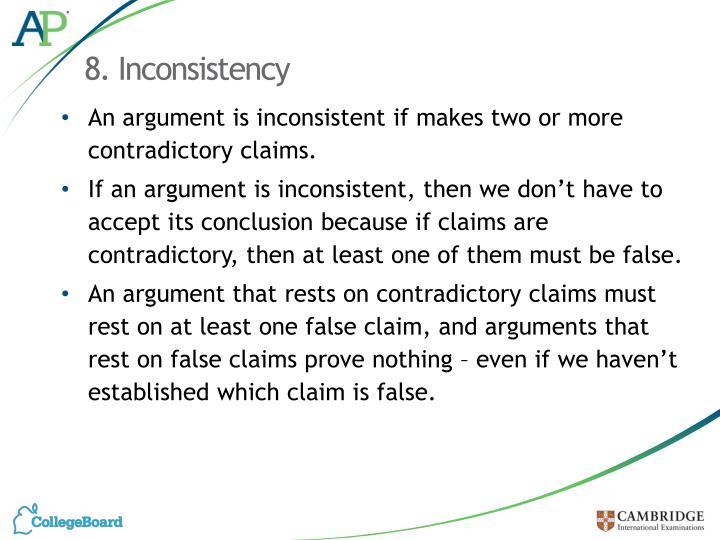8. Inconsistency