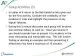 group activities 3