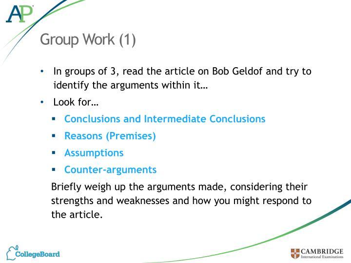 Group Work (1)