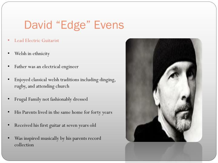 "David ""Edge"" Evens"
