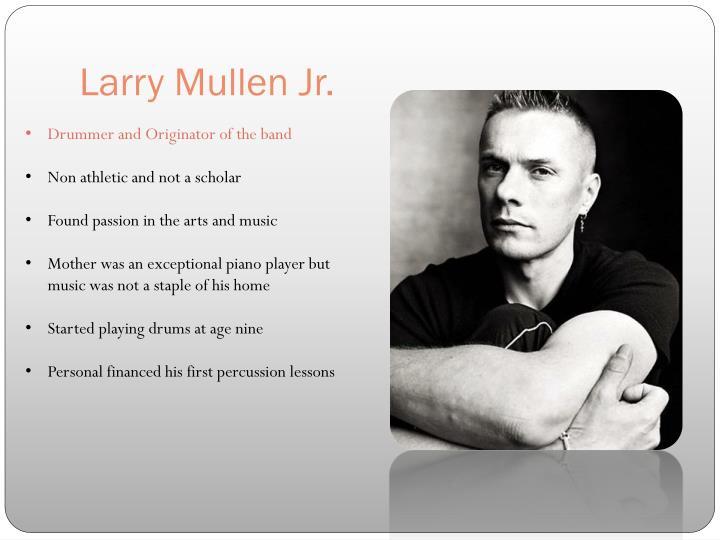 Larry Mullen Jr.