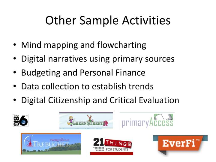 Other Sample Activities