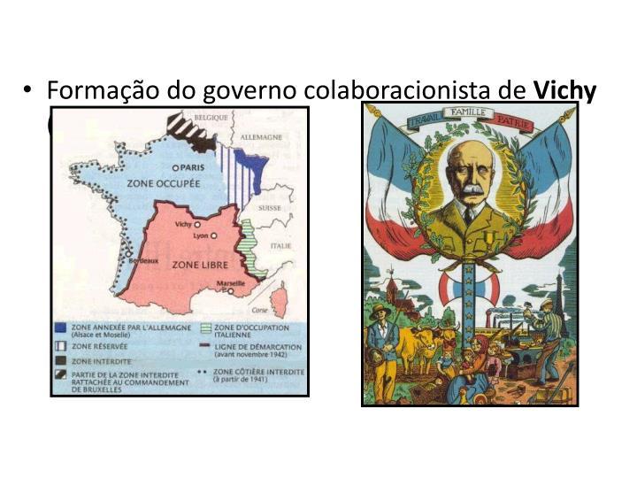 Formação do governo colaboracionista de