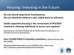 housing investing in the future1
