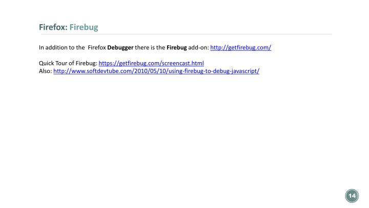 Firefox: