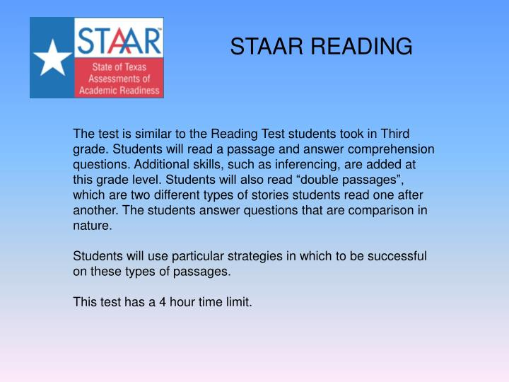 STAAR READING