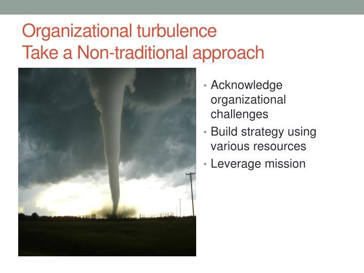 Organizational turbulence