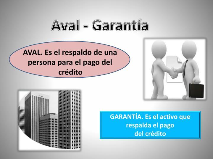 Aval - Garantía