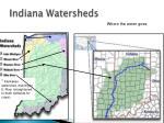 indiana watersheds