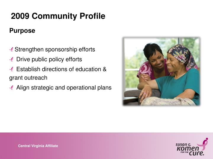 2009 Community Profile
