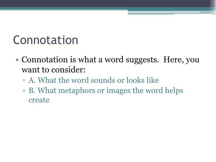 Connotation