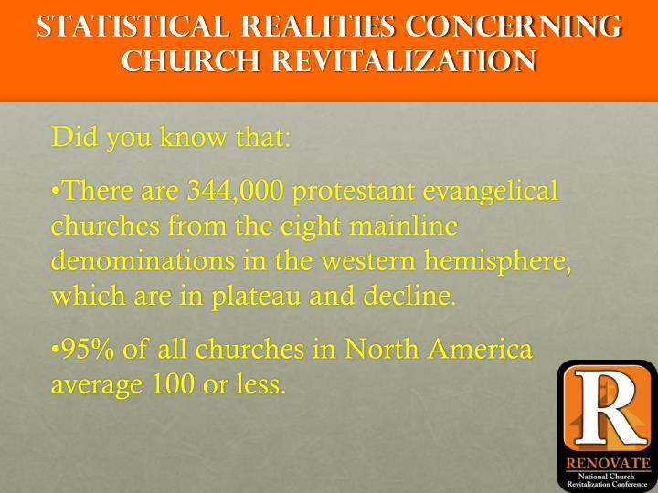 Statistical Realities Concerning Church