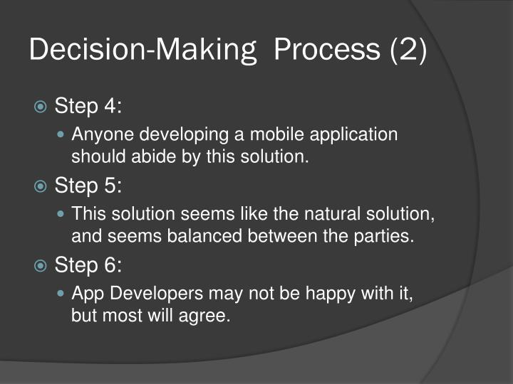 Decision-Making  Process (2)