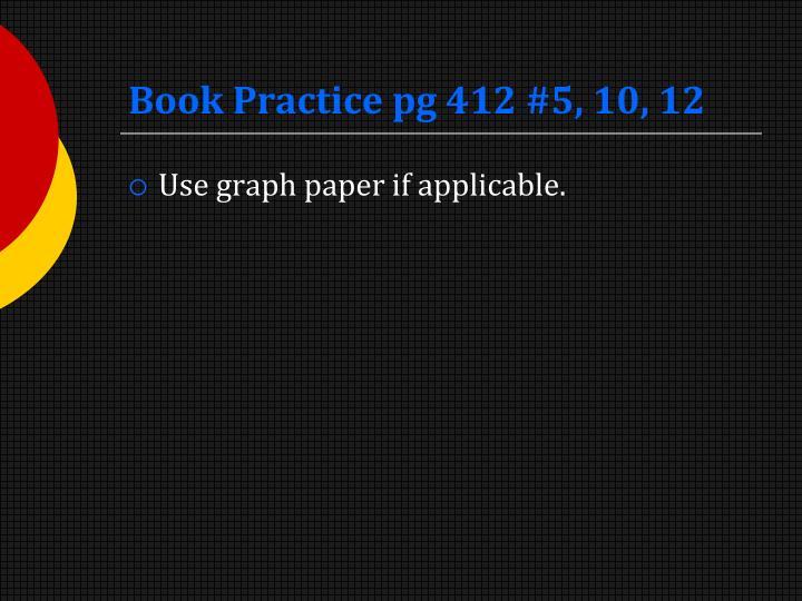 Book Practice