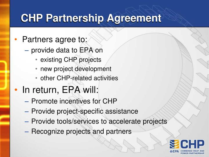 CHP Partnership Agreement