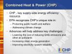 combined heat power chp
