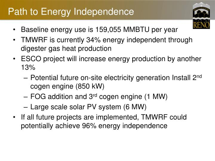 Path to Energy Independence
