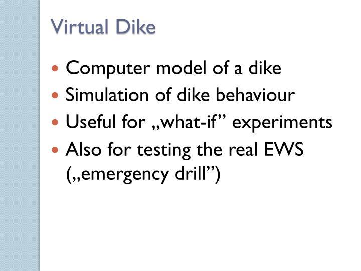 Virtual Dike