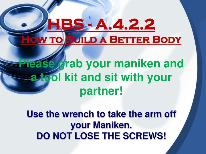HBS - A.4.2.2