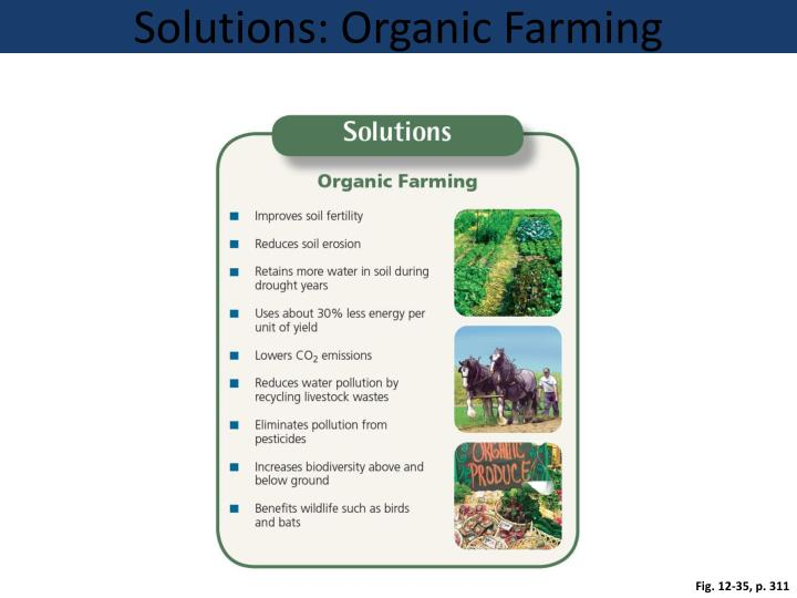Solutions: Organic Farming