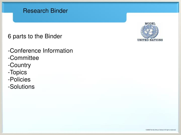 Research Binder