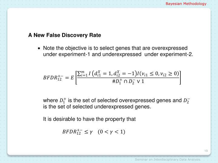 Bayesian Methodology