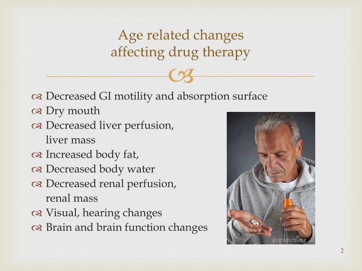 Age related changes