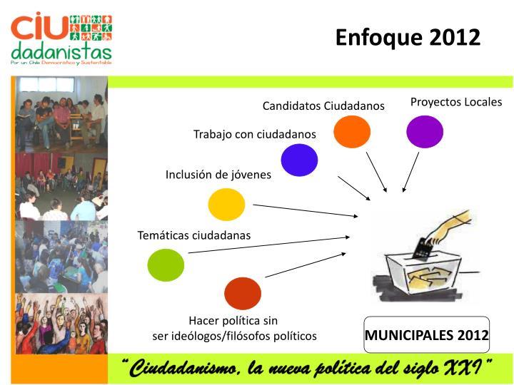 Enfoque 2012