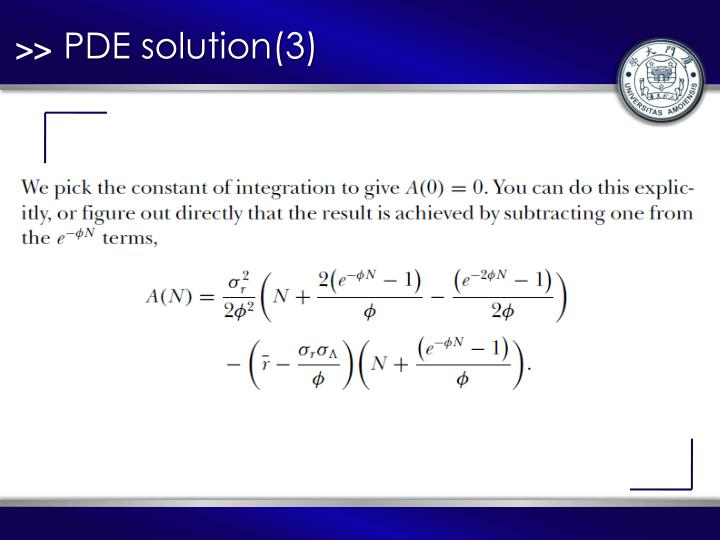 PDE solution(3)