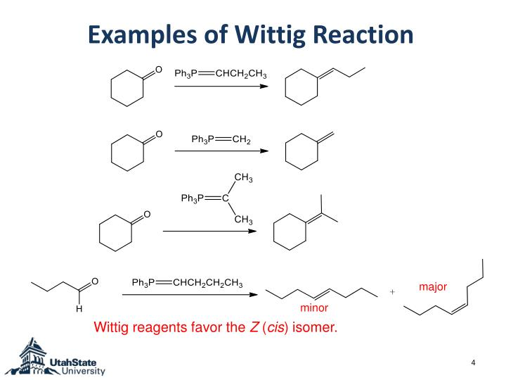 Examples of Wittig Reaction