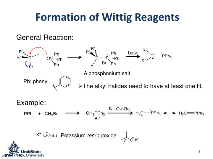 Formation of wittig reagents
