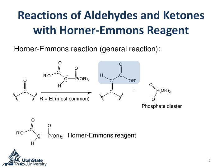 Horner-Emmons reaction (general reaction):