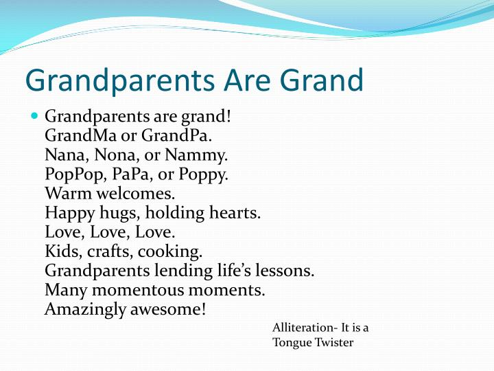 Grandparents Are Grand