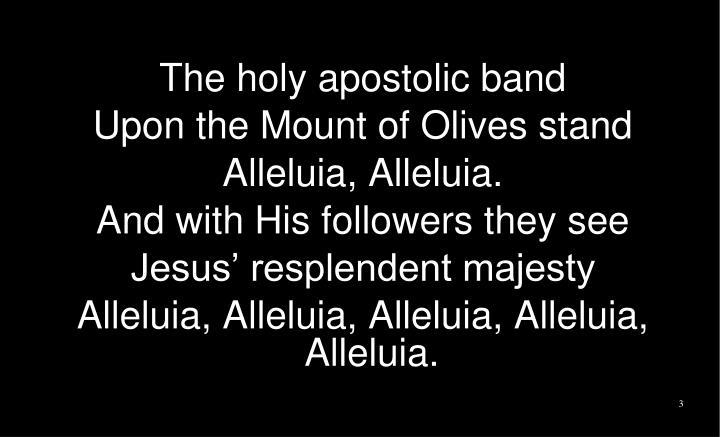 The holy apostolic band