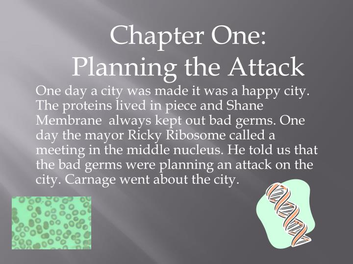Chapter One: Planning the Attack