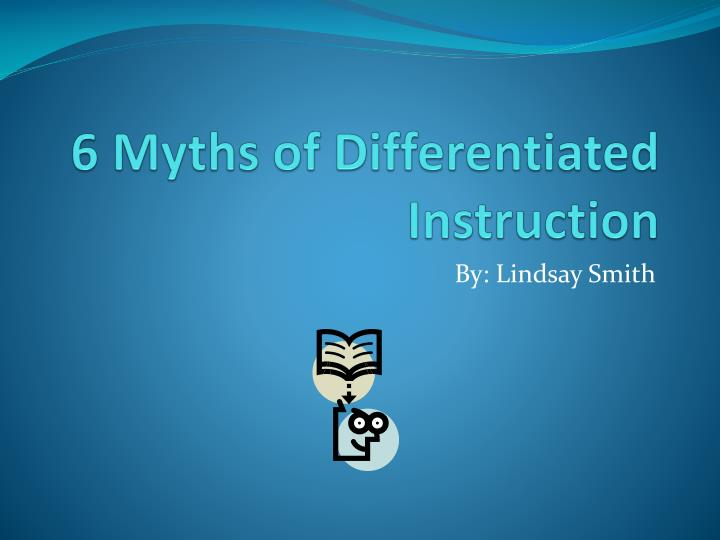 action research paper on differentiated instruction Investigating the impact of differentiated instruction in mixed  decision and any action to be  differentiated instruction that was first proposed as a.