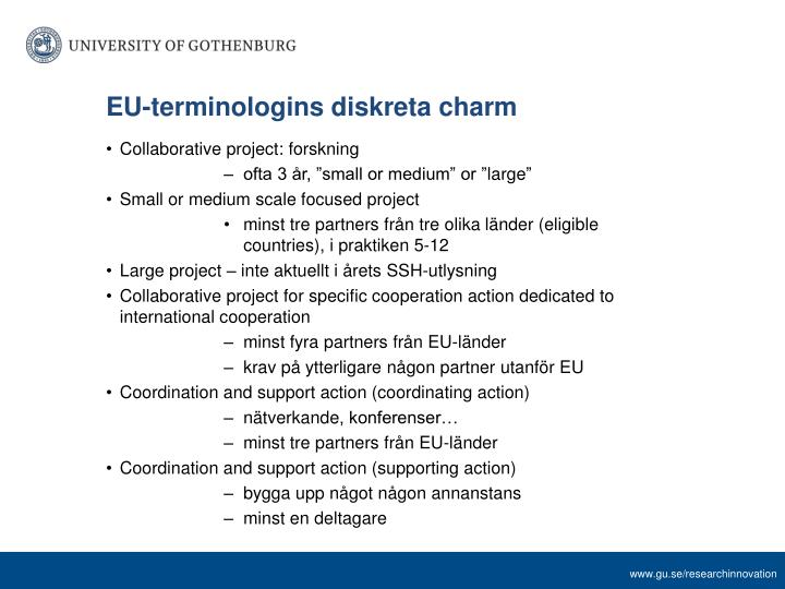 EU-terminologins diskreta charm