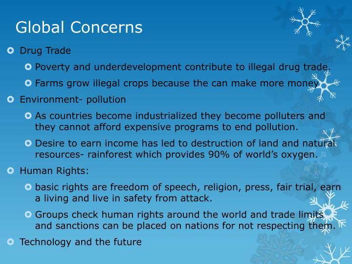 Global Concerns