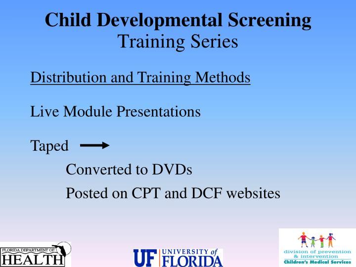 Child Developmental Screening