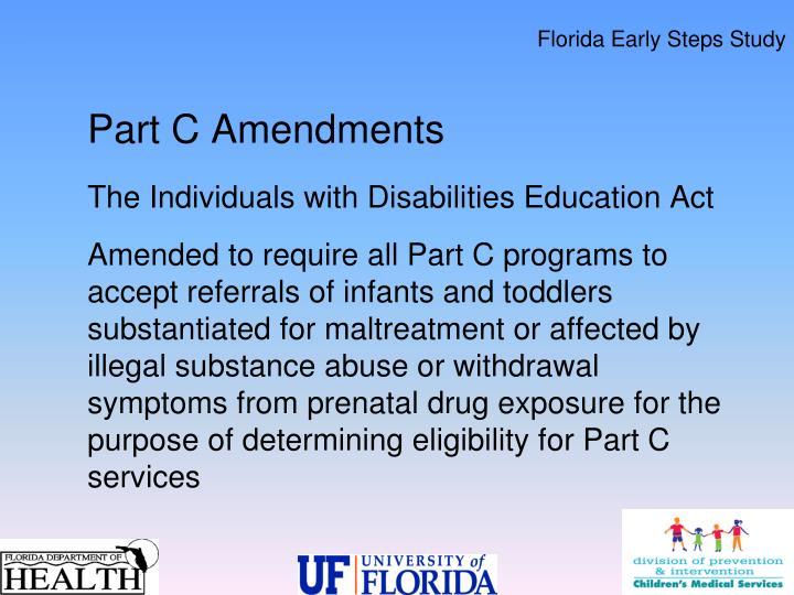 Florida Early Steps Study
