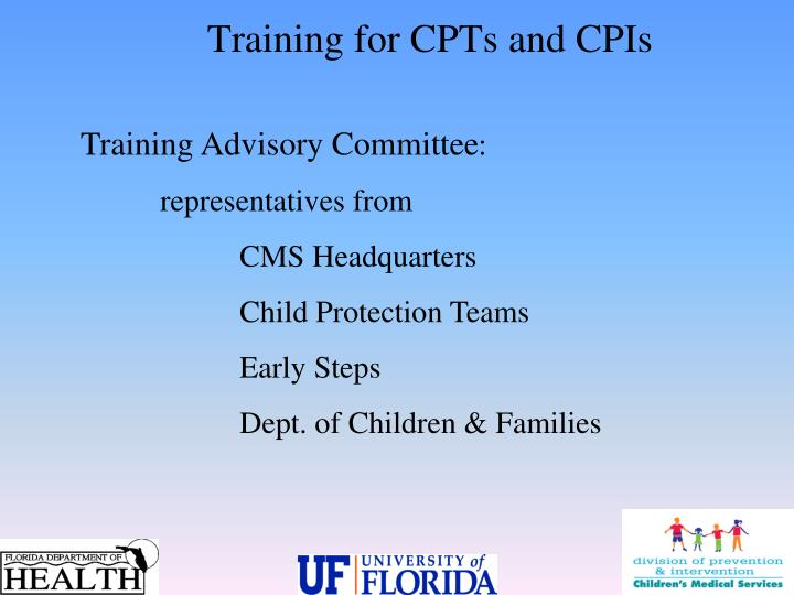 Training Advisory Committee