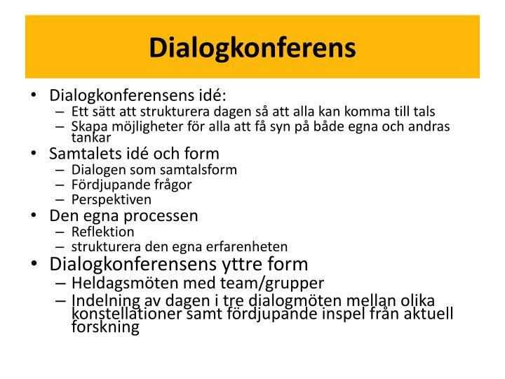 Dialogkonferens